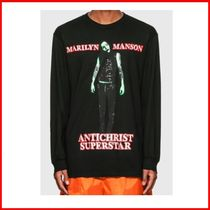 Pleasures★MARILYN MANSON SUPERSTAR LONG SLEEVE Tシャツ
