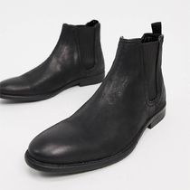 River Island distressed chelsea boots