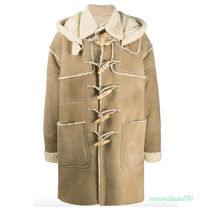 Dsquared2 Shearling Montgomery Coat