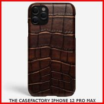 関税送料込☆THE CASEFACTORY☆IPHONE 12 PRO MAX CROCODILE