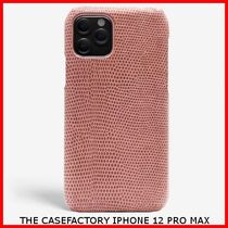 関税送料込☆THE CASEFACTORY☆IPHONE 12 PRO MAX LIZARD ANTICO