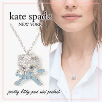 【国内発送】pretty kitty pave mini pendant セール