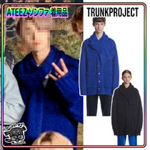 【TrunkProject】Mohair Scarf Cardigan ★ATEEZ ソンファ着用★