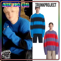 【TrunkProject】Angora Stripe Knit Sweater ★ATEEZ 着用★