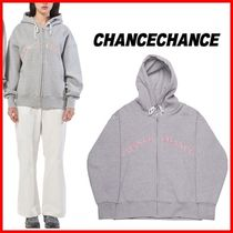 ★CHANCECHANCE★ロゴHood Zip-up☆大人気・男女OK!☆