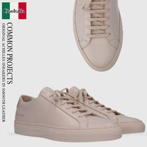 COMMON PROJECTS ORIGINAL ACHILLES SNEAKERS IN SMOOTH LEATHER