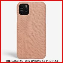 関税送料込☆THE CASEFACTORY☆IPHONE 12 PRO MAX LIZARD ROSE
