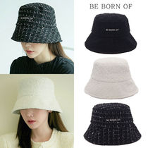 ★BE BORN OF★2020F/W新作★バケットハット Tweed bucket hat