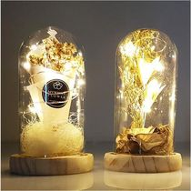 【byyoon】Bouquet mood light glass dome