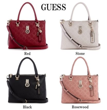 Guess ハンドバッグ 20AW最新作*GUESS*Ninnette*可愛いロゴ・サッチェルバッグ♪