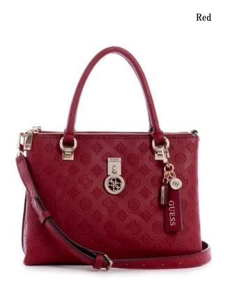 Guess ハンドバッグ 20AW最新作*GUESS*Ninnette*可愛いロゴ・サッチェルバッグ♪(2)