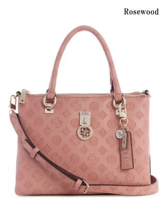Guess ハンドバッグ 20AW最新作*GUESS*Ninnette*可愛いロゴ・サッチェルバッグ♪(14)