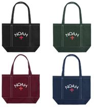☆NOAH☆Contrast Stitch Tote ノア ロゴ トートバッグ