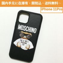 MOSCHINO SUNGLASS TEDDY BEAR iPhoneケース