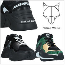【Naked Wolfe】国内発送 レザー厚底スニーカー 2colors