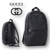【GUCCI】OUTLET☆ナイロン☆グッチシマ☆バックパック