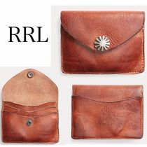 ★RRL★Tumbled Leather Card Wallet レザーカード入れ