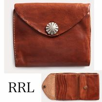 ★RRL★Concho Leather Wallet★レザーミニウォレット