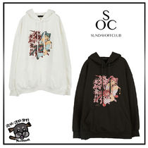 【SUNDAY OFF CLUB】ASSASSIN GIRL HOODIE ★関税,送料込★