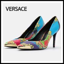 Versace Jeans Couture☆STILETTO マルチカラー パンプス