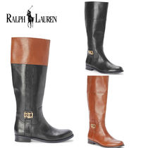 新作【Ralph Lauren】 Berdie Riding Boots ロングブーツ