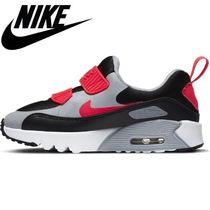 ☆NIKE☆キッズ AIRMAX TINY 90 (PS)BLK/RADRED 国内発送 正規品