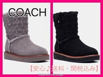 *COACH*Ivy Boot もこもこブーツ 送料・関税込み♪