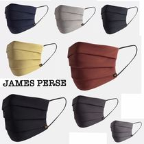 JAMES PERSE(ジェームスパース) マスク ★新作★JAMES PERSE★SOLID PLEATED MASK プリーツマスク