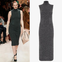 FE2824 LOOK9 CASHMERE AND MOHAIR DRESS