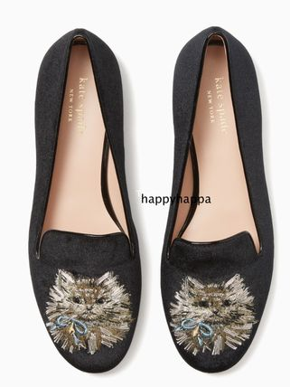 【kate spade】meow loafers