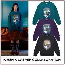 [KIRSH] CASPER GRAPHIC SWEATSHIRT JA★コラボ★