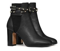 VALENTINO★rockstud calfskin ankle boots 40size (EMS関税込)