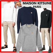 人気★MAISON KITSUNE★FOX HEAD PATC.H スウェット★