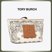 【Tory Burch】GRACIE PRINTED CANVAS COSMETIC POUCH