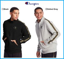 20-21AW新作★CHAMPION★ Powerblend Fleece Jacket With Taping