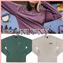 ONLY NY Subway ロゴ Tシャツ 長袖 Plum Green Cement 送料込み