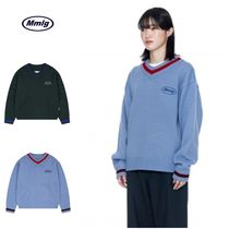 さらに100円引き◆87MM◆MMLG◆V-NECK COLLEGE SWEATER