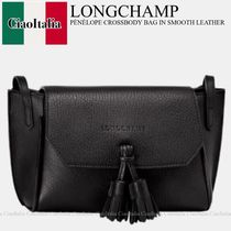 Longchamp  PENELOPE CROSSBODY BAG IN SMOOTH LEATHER