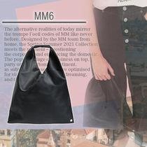 ★MM6★ Borsa Japanese piccola in similpelle コンパクト♪