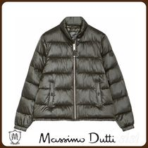 MassimoDutti♪QUILTED BOMBER JACKET