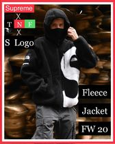 ★Supreme★FW20★TNF S Logo Hooded Fleece Jacket★フリース