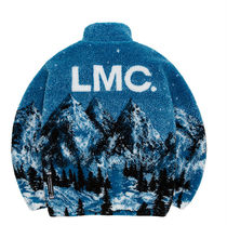 [LMC] LMC SNOW VILLAGE FLEECE JACKET★ジャケット ブルー