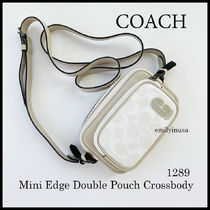 激安 COACH★メンズ★mini edge double pouch crossbody