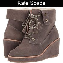 SALE『kate spade』Areana★レースアップショートブーツ