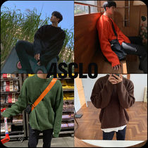 [ASCLO]★韓国大人気★ASCLO fit Hazzi-Round Knit