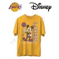 JUNK FOOD(ジャンクフード) Tシャツ・カットソー Lakers Disney Mikey Tee ディズニ レイカーズ ミッキー Tシャツ