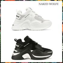 NAKED WOLFE☆ TRACK TRAINERS 厚底 ダットスニーカー