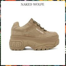 NAKED WOLFE☆SPORTY SNEAKERS  厚底 ダットスニーカー