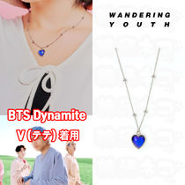 ★WANDERING YOUTH★BTS V着用 温度変化ハートネックレス