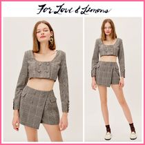 2021Cruise新作 ☆For Love & Lemons* Frankie Crop Top